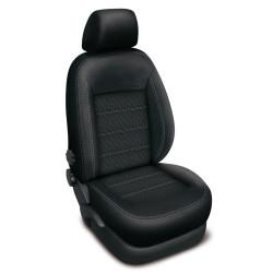 Autopotahy BMW 1 E87, od r. 2004-2011, AUTHENTIC DOBLO, vlnky černé