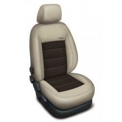 Autopotahy BMW X3 II F25, od r. 2010, AUTHENTIC VELVET, béžovohnědé