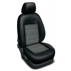 Autopotahy Audi Q5, od r. 2009, AUTHENTIC VELVET, černošedé