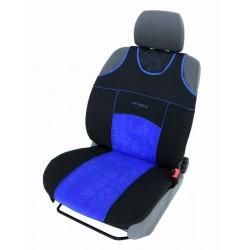 Autopotahy Autopotahy TUNING EXTREME s alcantarou, sada pro dvě sedadla, modré