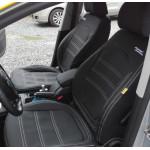 Autopotahy Škoda Superb II, kombi, AUTHENTIC LEATHER, černé