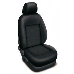 Autopotahy Volkswagen T5 8 míst, 1+1-2+1-3, od r. 2003, AUTHENTIC PREMIUM vlnky černé