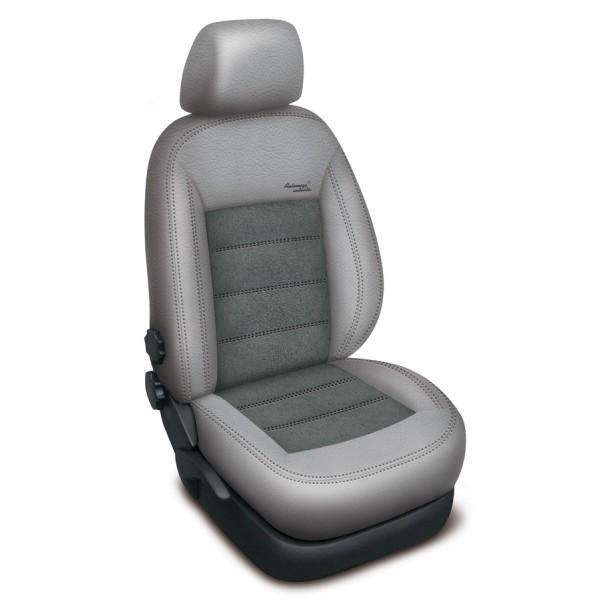 Autopotahy BMW X3 II F25, od r. 2010, AUTHENTIC VELVET, šedé