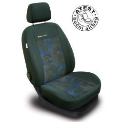 Autopotahy LUX STYLE Pick-Up modročerné