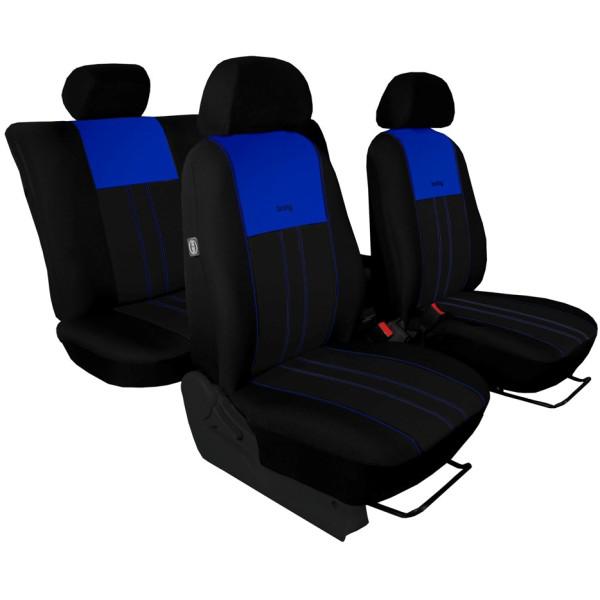 Autopotahy Škoda Octavia I, Tuning Duo, dělené zadní sedadla, modročerné