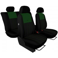 Autopotahy KIA NIRO, od r. 2014, DUO černo zelené