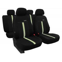 Autopotahy kožené GTR černo béžové