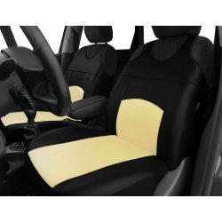 Autopotahy Autopotahy TUNING EXTREME KOŽENÉ, sada pro dvě sedadla, béžové