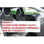 Autopotahy ŠKODA OCTAVIA III, integrované přední opěrky hl., AUTHENTIC LEATHER černobílé