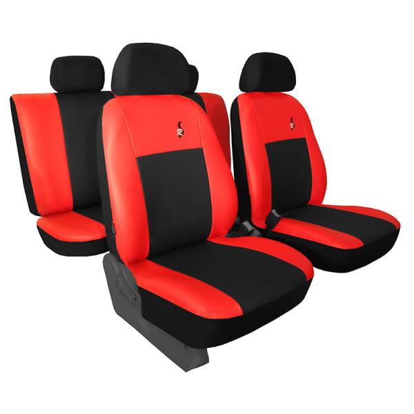 Autopotahy JEEP CHEROKEE V, od r. 2014, ROAD červené