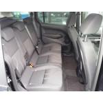 Autopotahy FORD TOURNEO CONNECT, 5 míst, od r. 2014, AUTHENTIC PREMIUM žakar červený