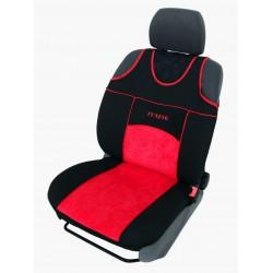 Autopotahy Autopotahy TUNING EXTREME s alcantarou, sada pro dvě sedadla, červené