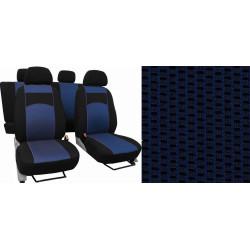 Autopotahy ŠKODA RAPID, integrované přední opěrky hlavy, VIP modré