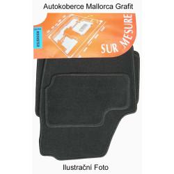 Autokoberce Škoda FABIA II, 4 díly materiál MALLORCA