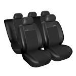 Autopotahy Citroen Berlingo II, od r. 2008, Eco kůže + alcantara černé