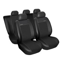Autopotahy Dacia Sandero II, od r.v. 2012, Eco kůže + alcantara černé