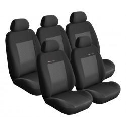 Autopotahy Renault Scenic III, 5 míst, od r. 2009, černé