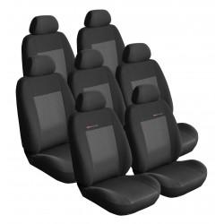 Autopotahy Citroen C4 Picasso I, od r.2006-2013, 7 míst, černé