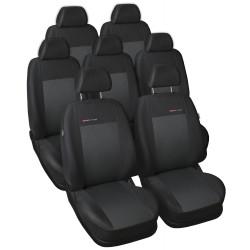 Autopotahy Volkswagen Sharan II, od r. 2010, 7 míst, černé