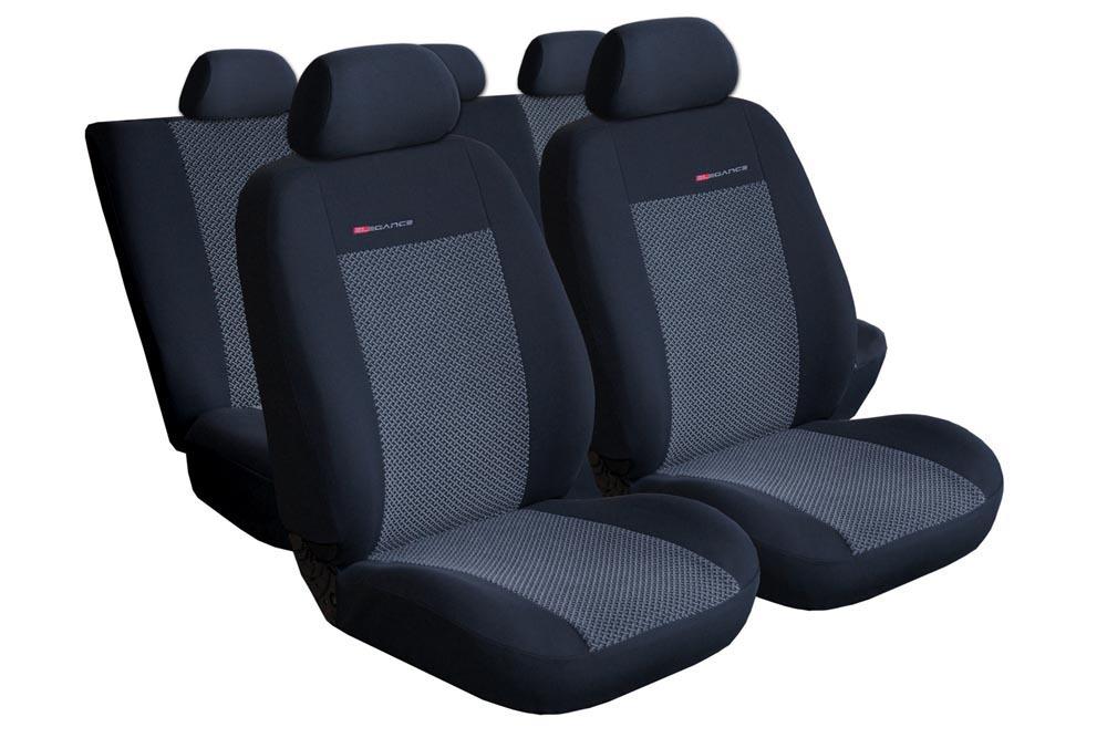Autopotahy RENAULT CLIO IV,  5 DVEŘ, GRANDTOUR od r. 2012, šedo černé