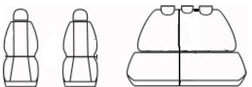 Autopotahy SUZUKI SX4, od r. 2006, Dynamic šedé