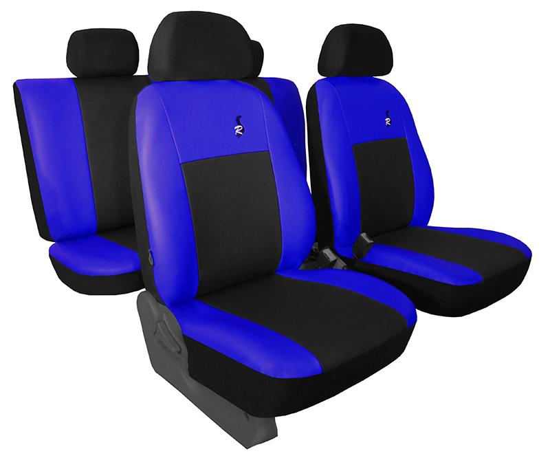Autopotahy VOLKSWAGEN T-ROC, od r. 2017, ROAD modré