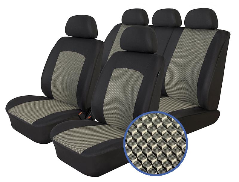 Autopotahy Hyundai I 20 I, od r. 2008-2014, Dynamic šedé
