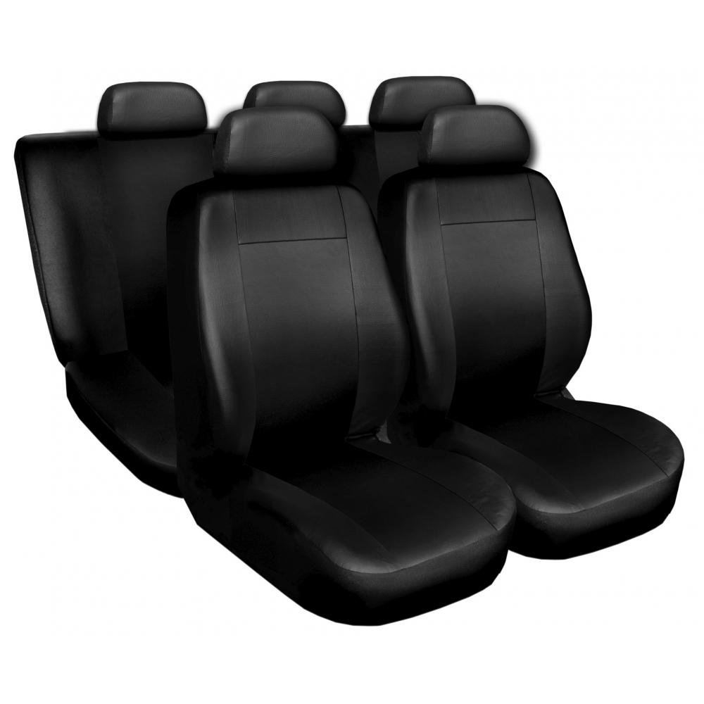 Autopotahy kožené COMFORT černé