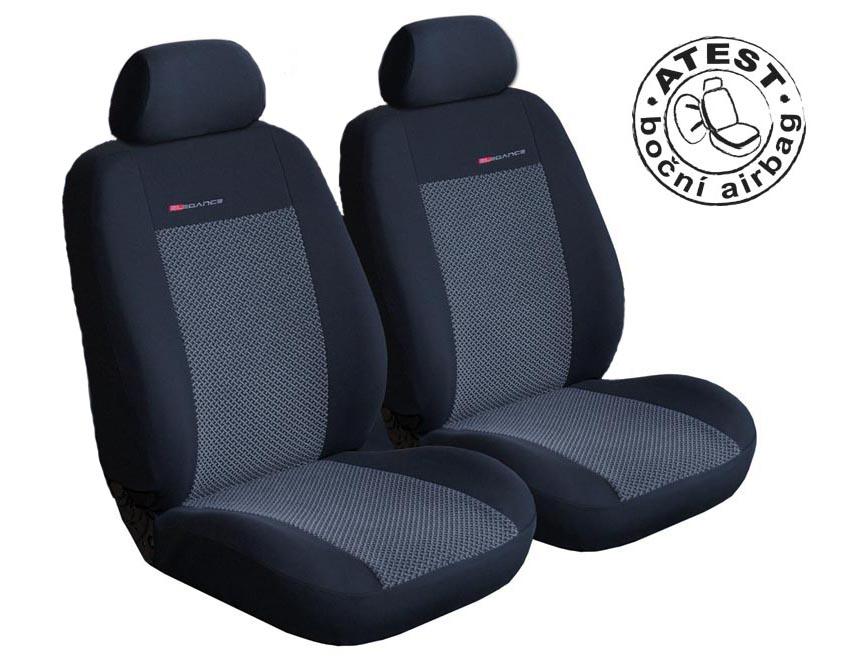 Autopotahy Fiat Fiorino III, Cargo od r.2008, 2 místa, šedo černé
